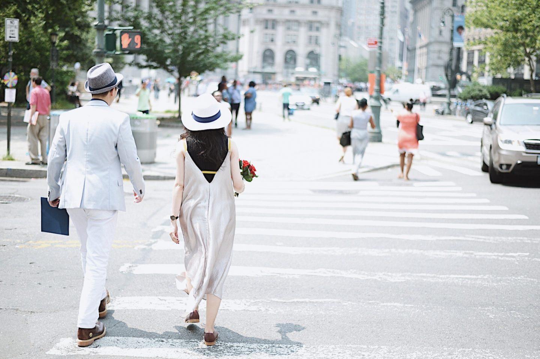 Get Married in NYC 那一天,我們就這樣搭著地鐵去結婚